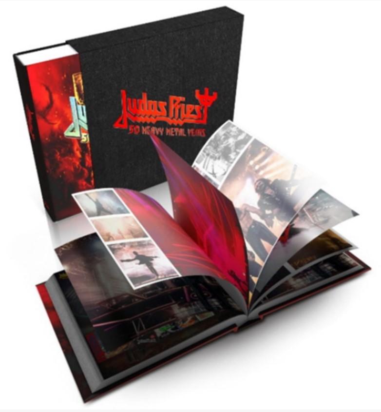 Judas Priest anuncia su libro especial de fotografías para celeberar 50 años de existencia | Sound & Vision